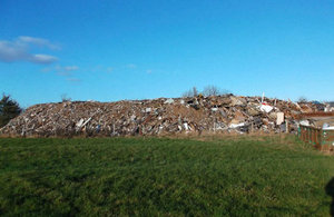 The Pilning waste site