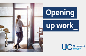Opening up work – Universal Credit