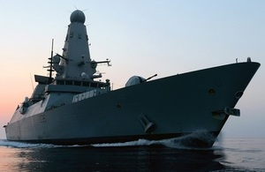 Type 45 destroyer HMS Dragon