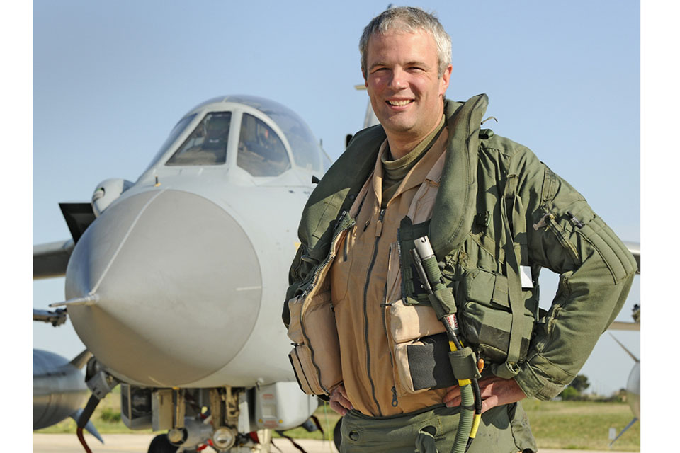 Wing Commander Andy Turk, Officer Commanding IX (Bomber) Squadron