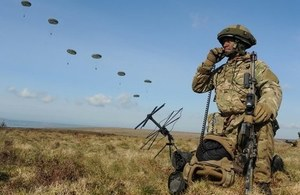 SMEs help to keep the UK's Armed Forces at the cutting-edge of technology.
