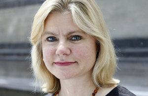 International Development Secretary Justine Greening MP. Picture: DFID