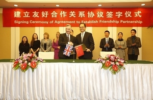 Liverpool signs friendship agreement with Kunming City