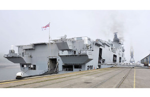 HMS Ocean alongside at Corporation Quay