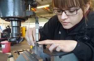 Bethan is a third year engineering apprentice at the Defence Science and Technology Laboratory.