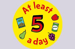 5 A Day logo.