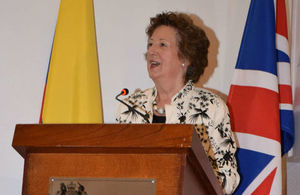 Baroness Anelay, visited Colombia and Panama