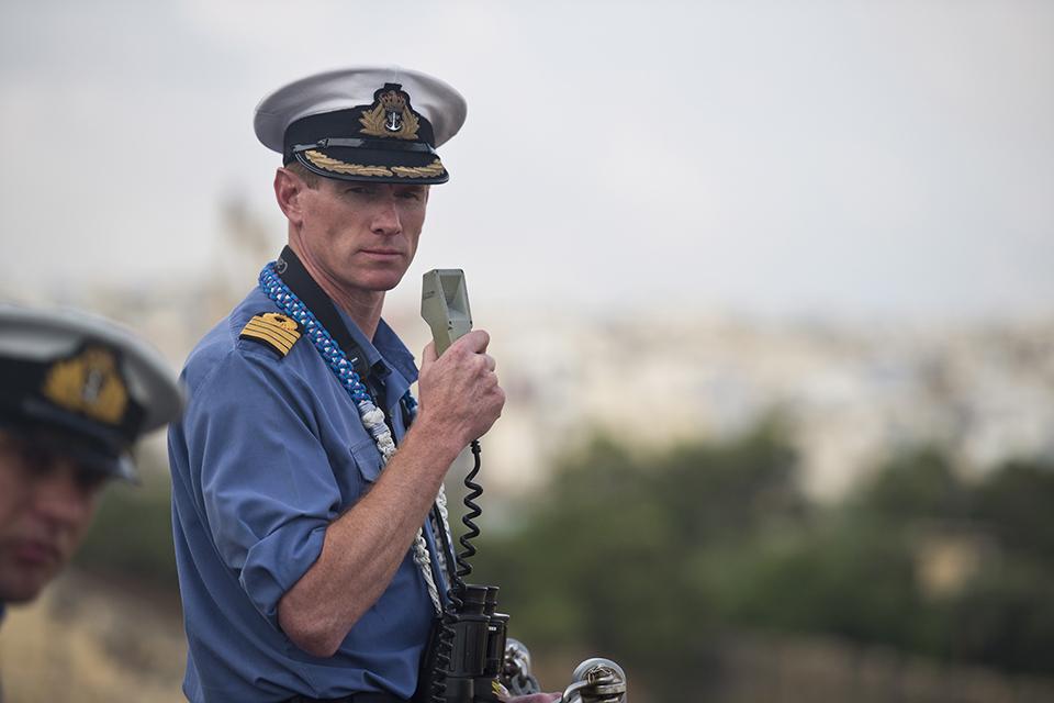 Captain Nicholas Cooke-Priest. Crown Copyright.