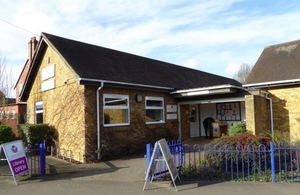One of Buckinghamshire's community libraries: Farnham Common