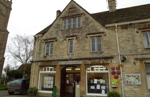 Lechlade community library, Gloucestershire