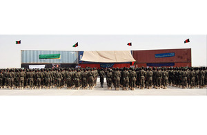 Afghan National Army Training Centre at Camp Shorabak
