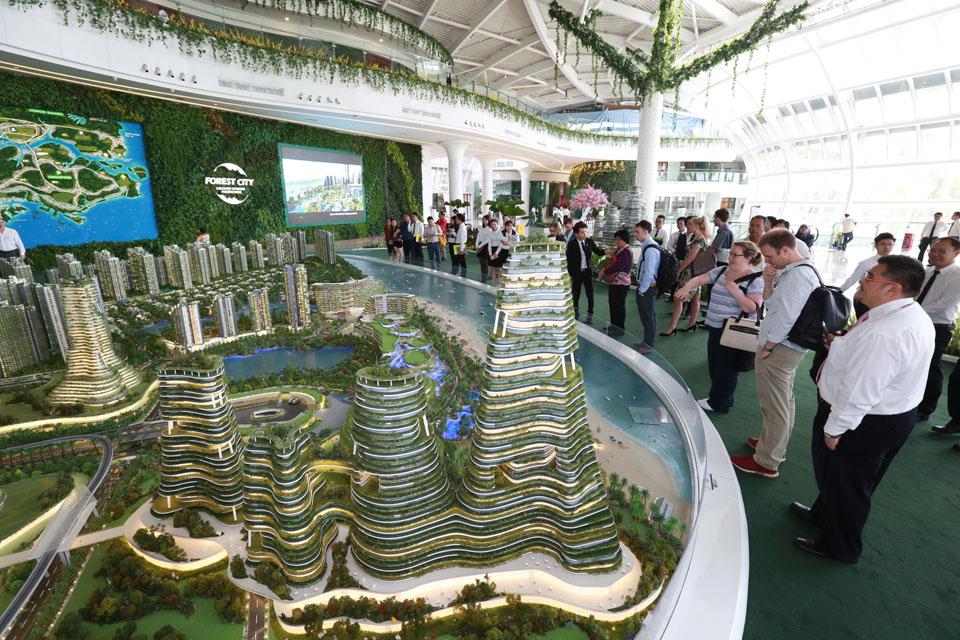 Forest City Development in Johor