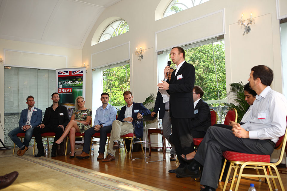 Multipass UK Ltd discussing its business model during an investor panel discussion
