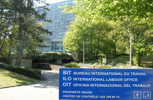 The 326th Session of the Governing Body of the International Labour Organization takes place at the ILO headquarters in Geneva