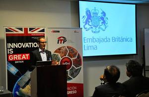 New British satellite technology in Peru