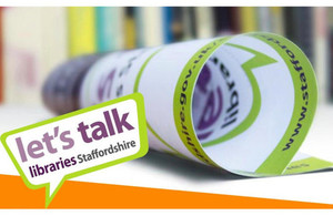 Part of Staffordshire libraries consultation poster