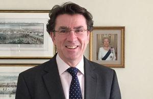 Iain Lindsay OBE
