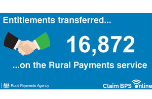 16872 Entitlements transferred