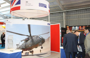 Presence of British companies at FIDAE 2016.