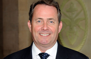 Secretary of State for Defence Dr Liam Fox