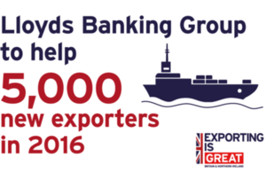 Lloyds Banking Group to help 5,000 new exporters
