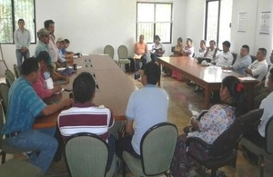 Meeting Guatemala - Belize indigenous communities