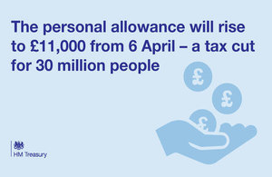 Personal allowance changes