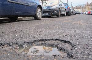Pothole.
