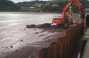 Repairs to Teignmouth's promenade are now complete