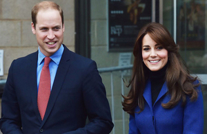 The Duke and Duchess of Cambridge (Image Copyright Press Association)
