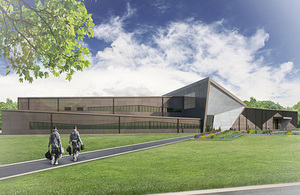 CGI imagery of the new facilities