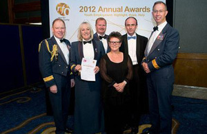 The RAF was honoured with a Highly Commended Award in the Collaboration and Partnership category