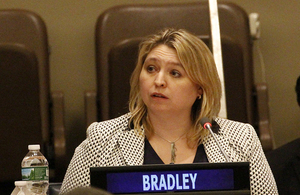 Karen Bradley, Minister for Preventing Abuse, Exploitation and Crime