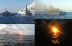 Karinya accident sequence photograph collage