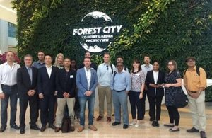 Innovate UK / UKTI Connected Cities mission at Forest City development in Johor