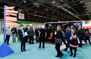 Exhibitors and visitors at the Public Sector Show 2015