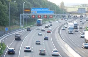 Manchester smart motorways