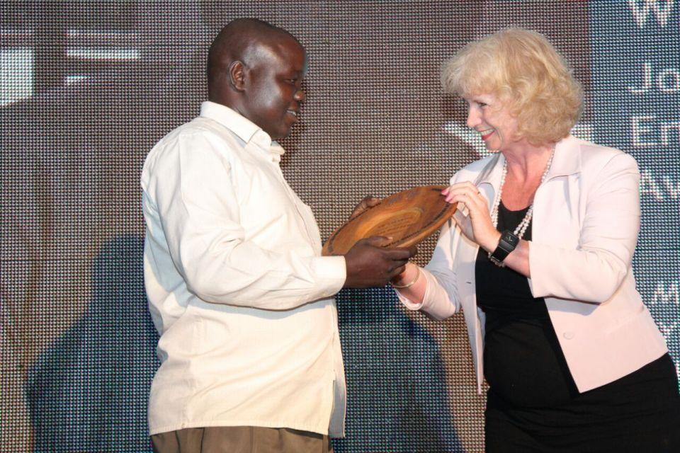 Handover of Award