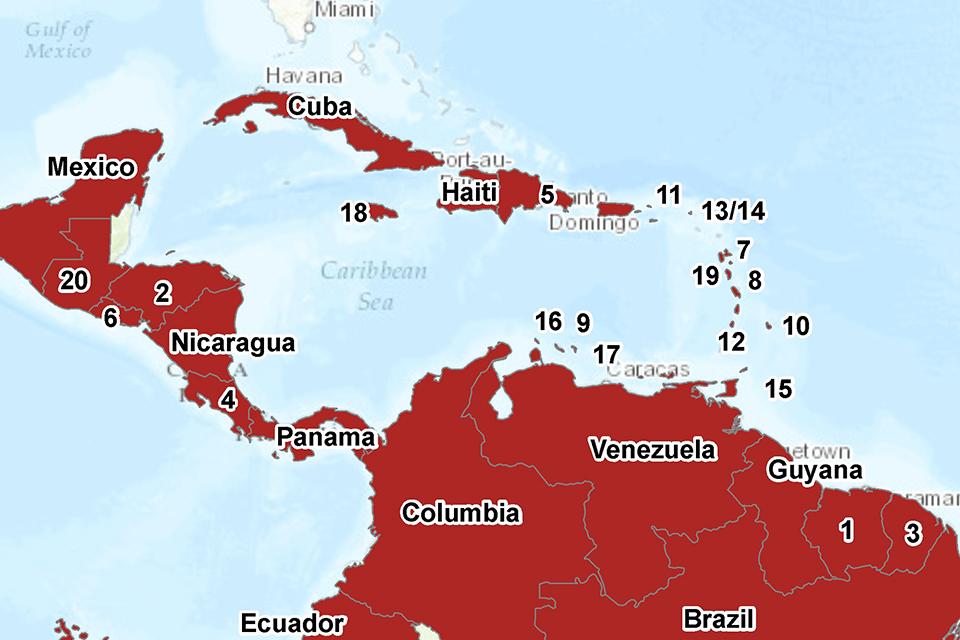 HPR volume 10 issue 15: news (15 April) - GOV.UK on japanese encephalitis map, powassan virus map, yellow fever map, west nile virus map,
