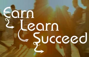 Earn Learn Succeed logo