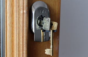 Keys to the door (Photo: Paul Clabburn. All rights reserved)