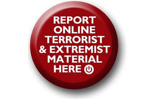 Report online material promoting terrorism or extremism