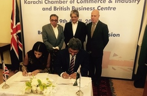 New agreement promotes trade between UK and Pakistan