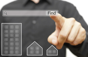 Online property search.