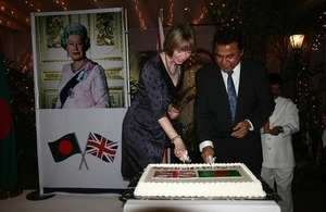 British High Commissioner to Bangladesh Alison Blake with chief guest Mostafa Kamal MP, Planning Minister, Bangladesh