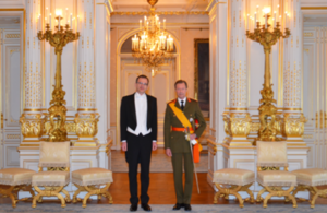British Ambassador presents credentials to Grand Duke of Luxembourg