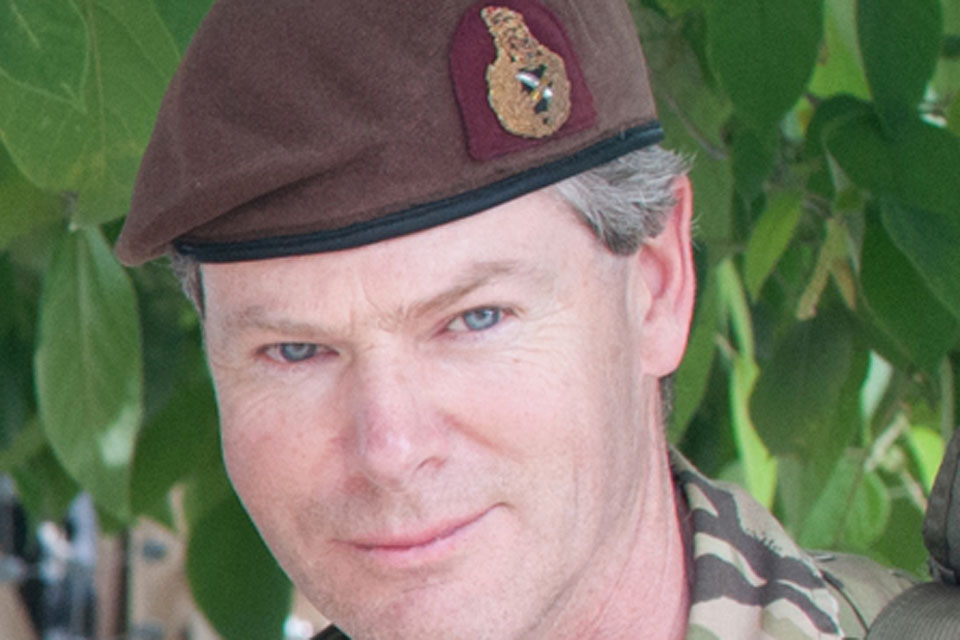 Lieutenant General Adrian Bradshaw, Deputy Commander of the International Security Assistance Force in Afghanistan