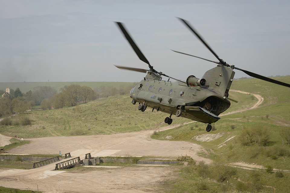 Exercise Griffin Strike. Crown Copyright.