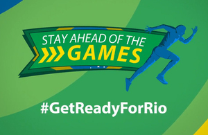 Stay Ahead of the Games Logo