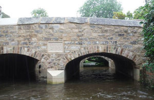 The new Charminster Bridge